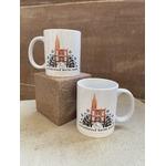 mug blanc cathédrale strasbourg