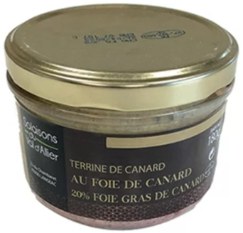 terrine canard foie gras