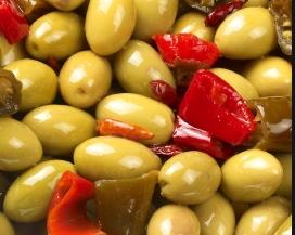 olives cassées pimentées