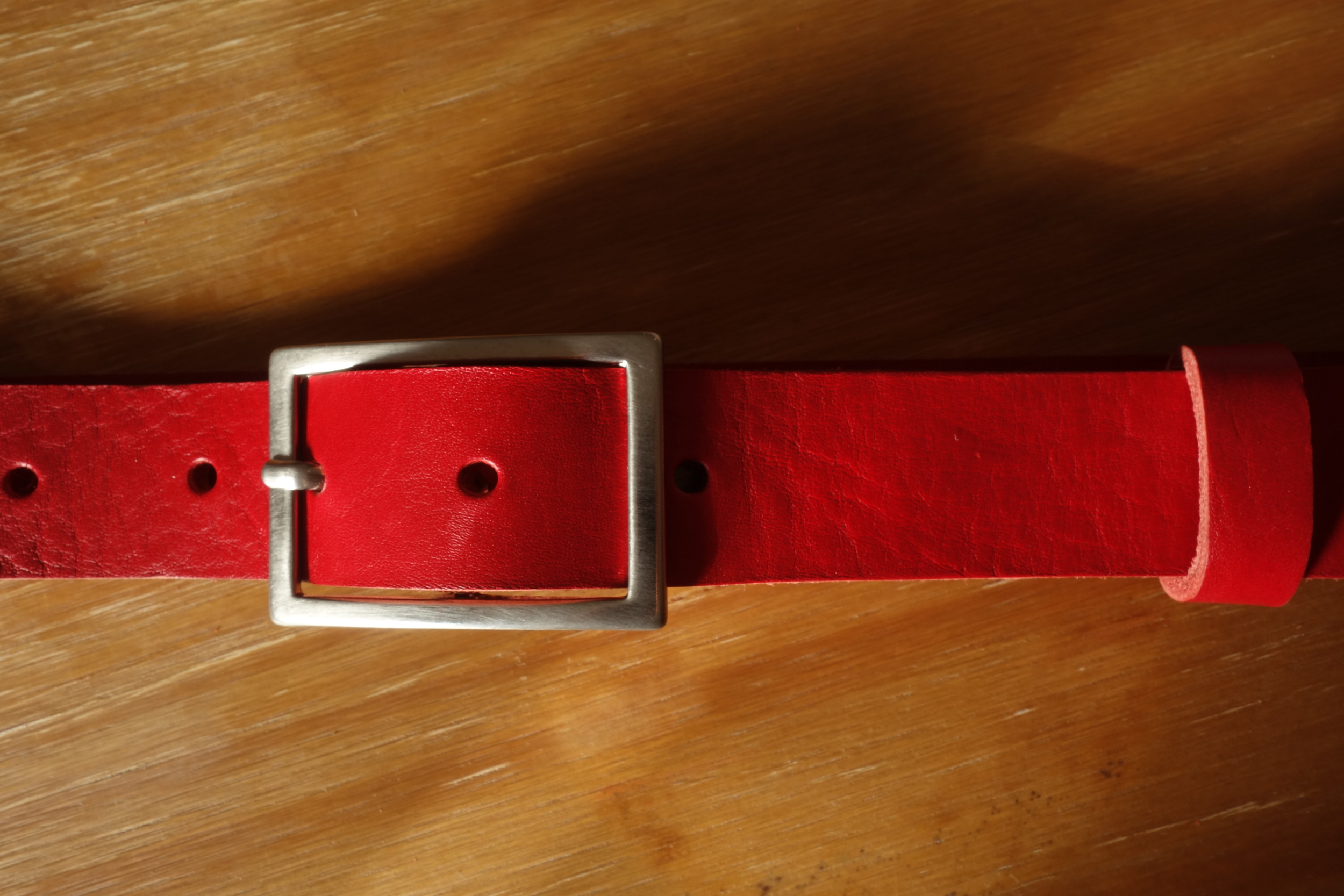 Ceinture 30MM rouge (3)