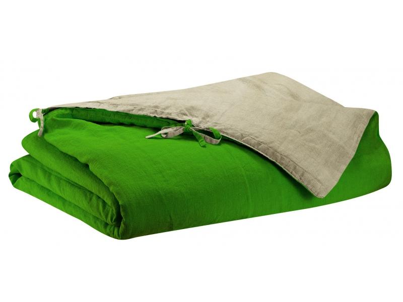 Lin lav z phyr prairie linge de lit uni parures envie d 39 int rieur - Linge de lit vente privee ...
