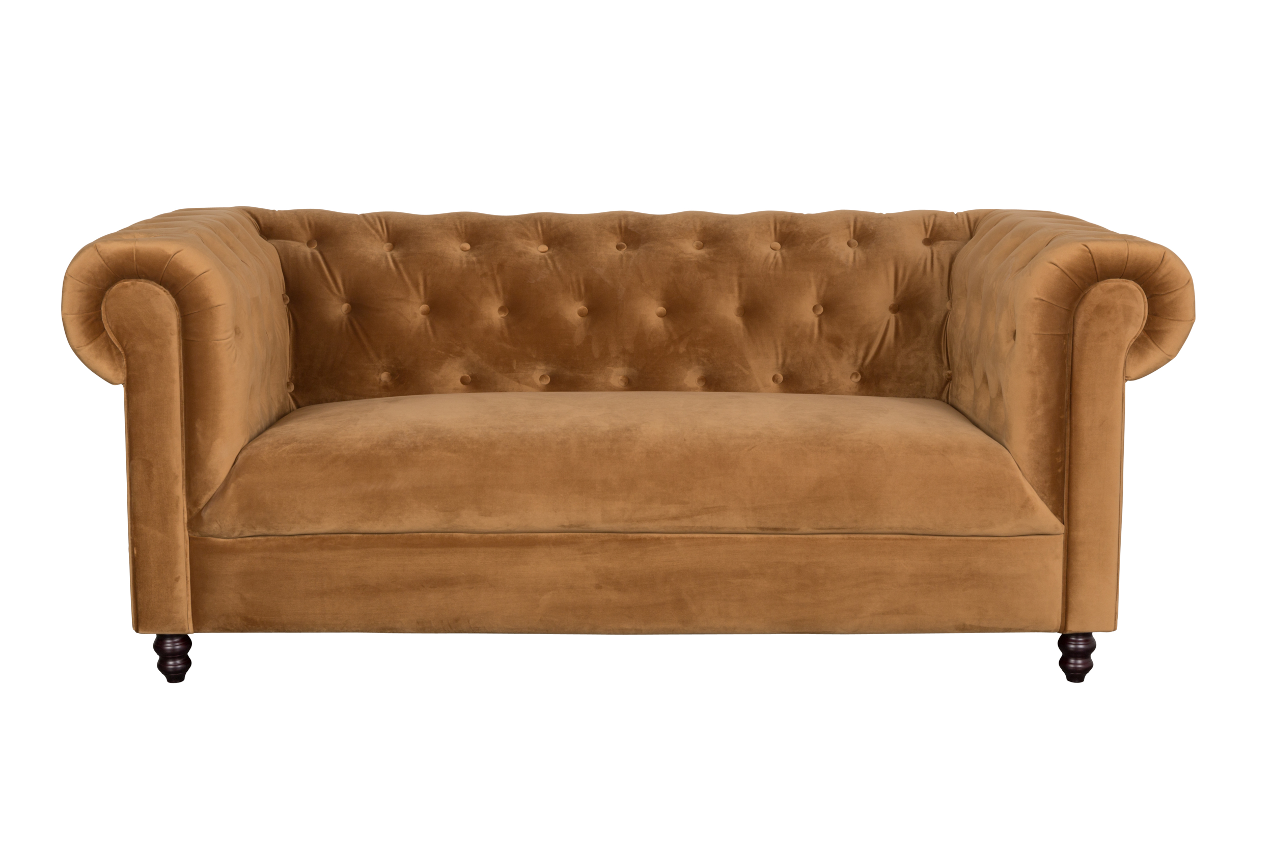 SOFA CHESTER GOLDEN BROWN