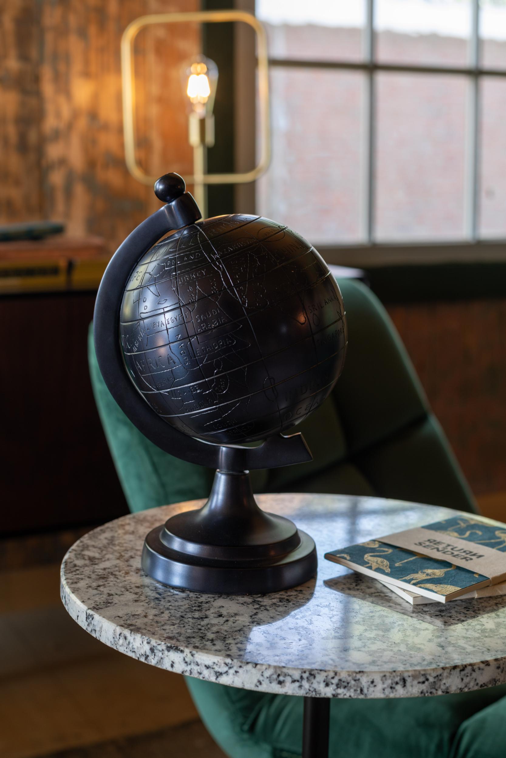 MILES globe