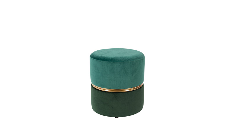 TABOURET BUBBLY Velours