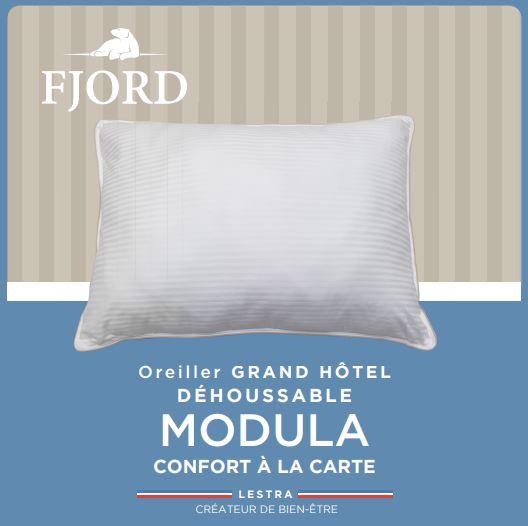 Oreiller Modula Moelleux Grand Hotel Fjord LESTRA