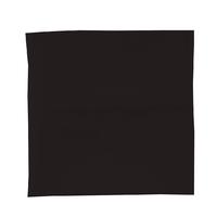 Housse de couette Percale 80 fils - Noir