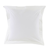 Taie d'oreiller Percale 80 fils - Blanc
