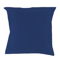 Taie d'oreiller Percale 80 fils - Bleu