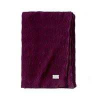 Couvre-lit Malo Violet  - 240 x 260 cm