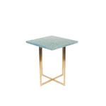 Table dappoint LUIGI carrée verte