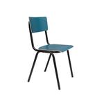 Chaise matte BTS bleue
