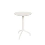 Table dappoint SHINY LIZ blanche