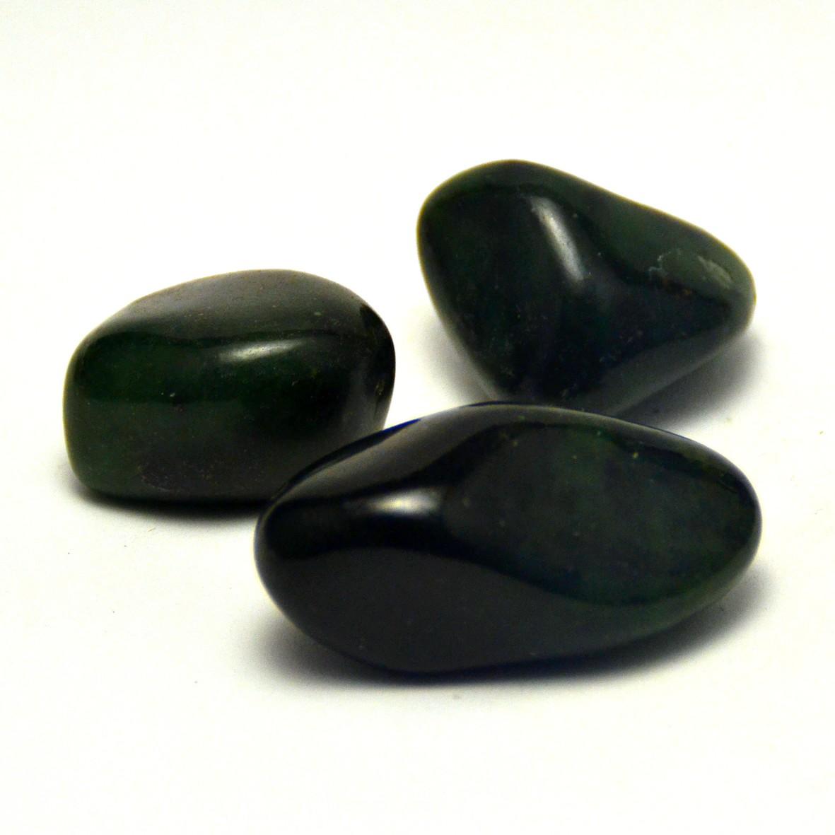 pierre roulée jade de canada  naturelle