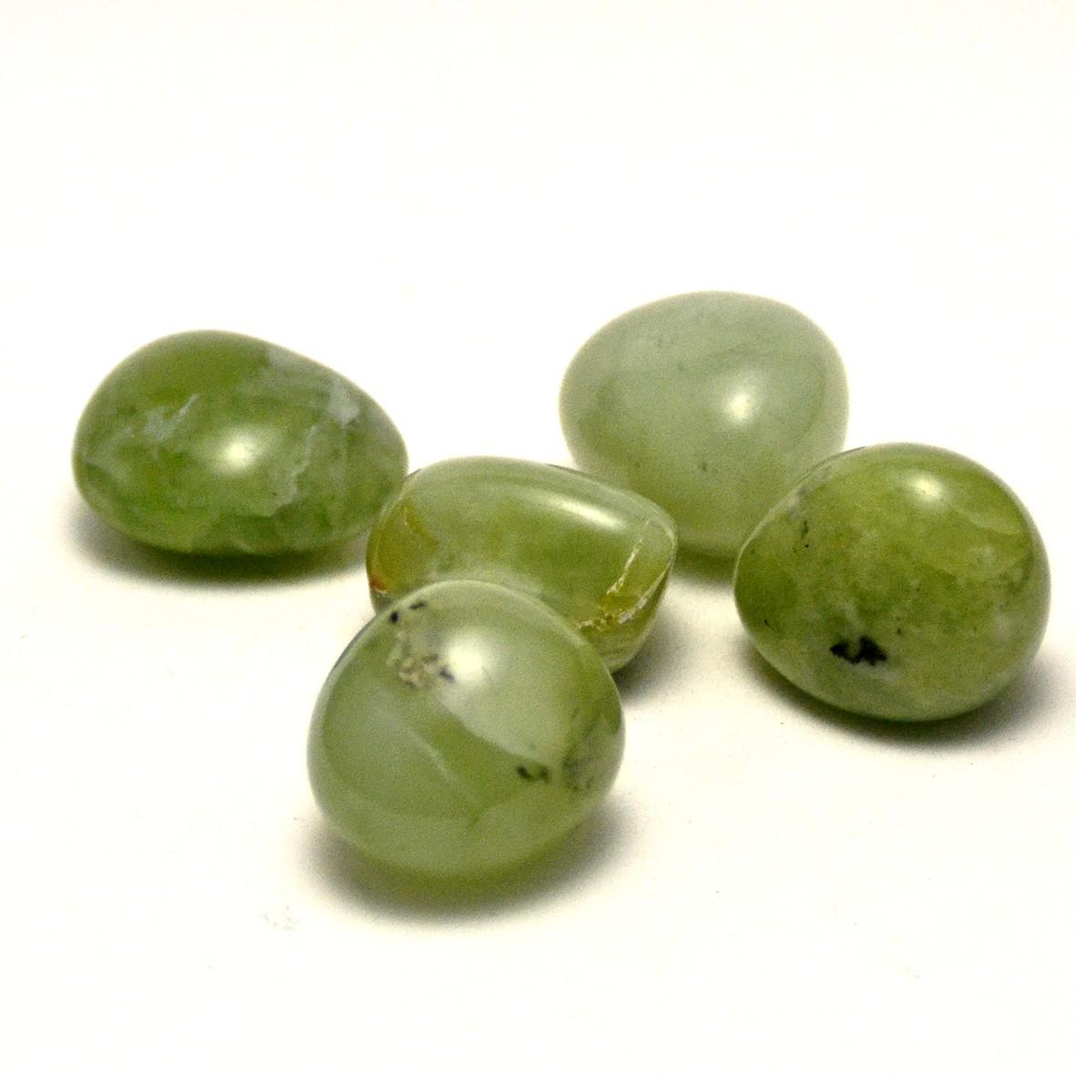 pierre roulée jade néphrite  naturelle