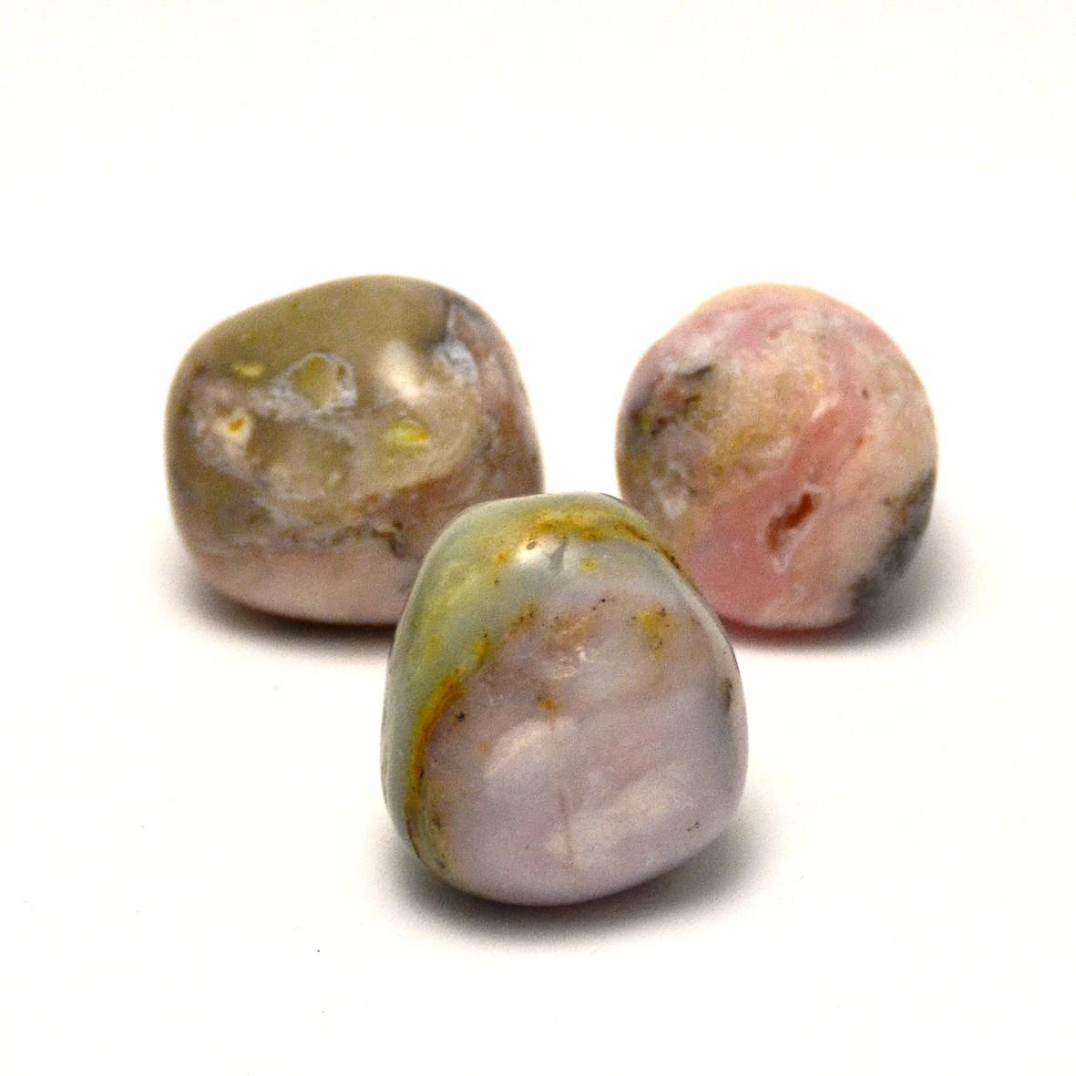 pierre roulée opale des Andes naturelle