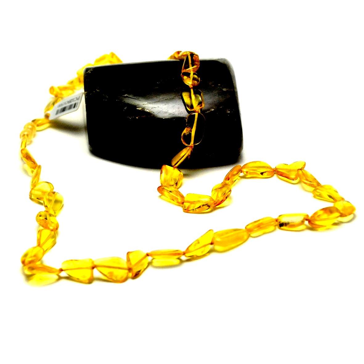 collier en ambre de la mer Baltique ,70 cm