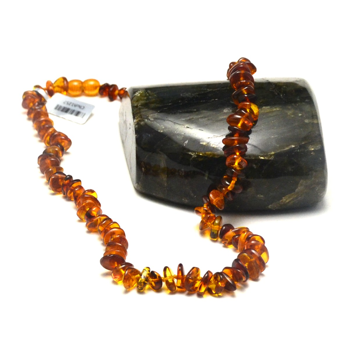 collier ambre de la mer Baltique , 49cm