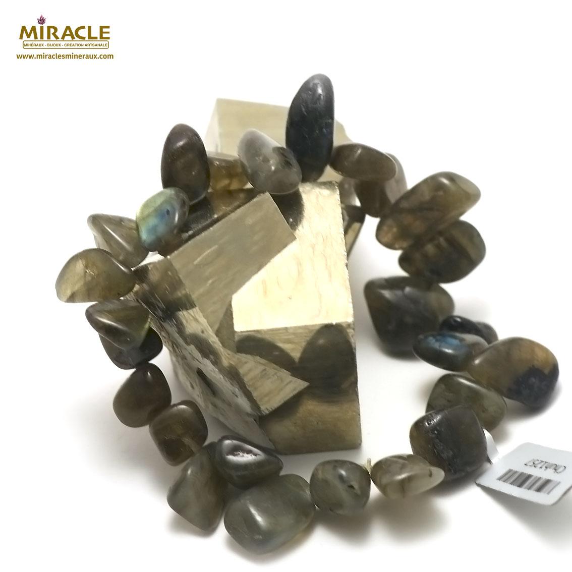 bracelet labradorite ,  Ts baroque