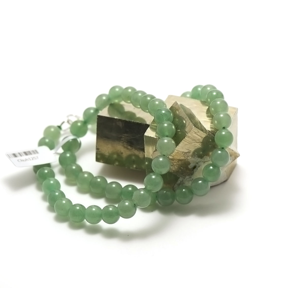 collier aventurine perle ronde 8 mm