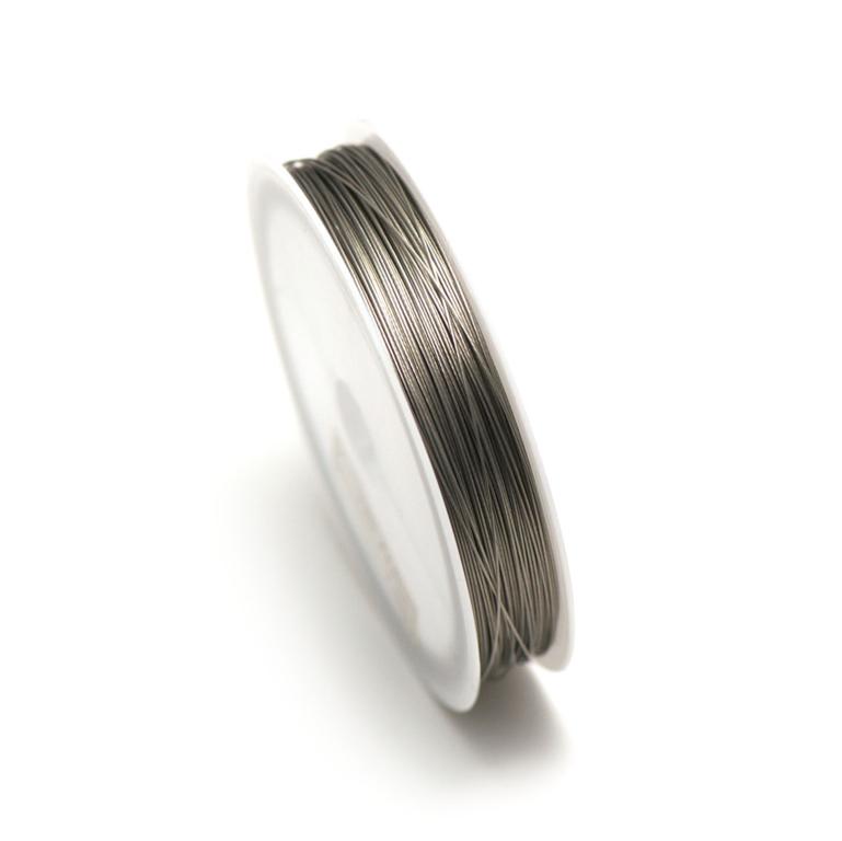 Fil câblée 0.35 mm ( bobine de 100 m ) ,col acier