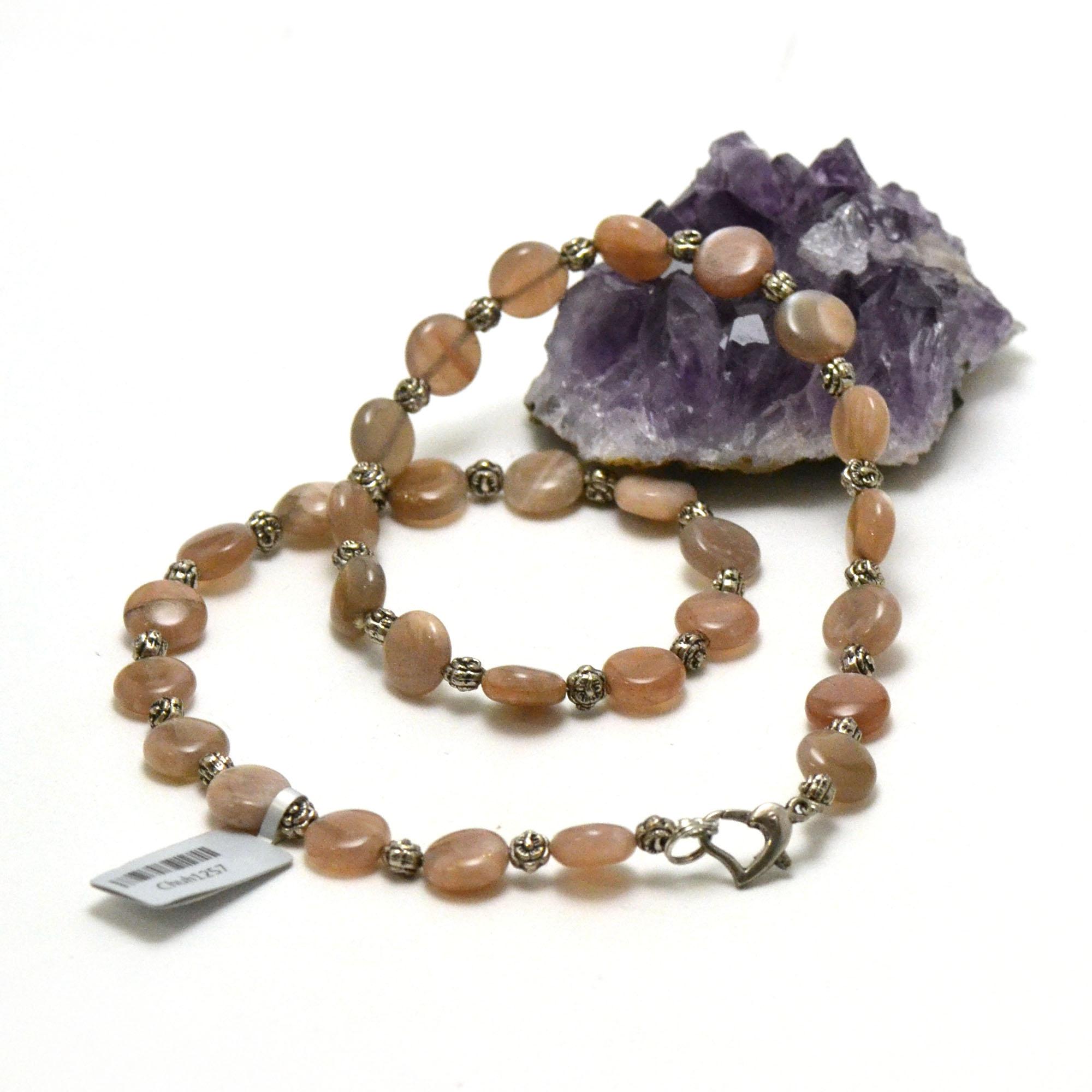 F palet rond apprêt collier en pierre naturelle de soleil