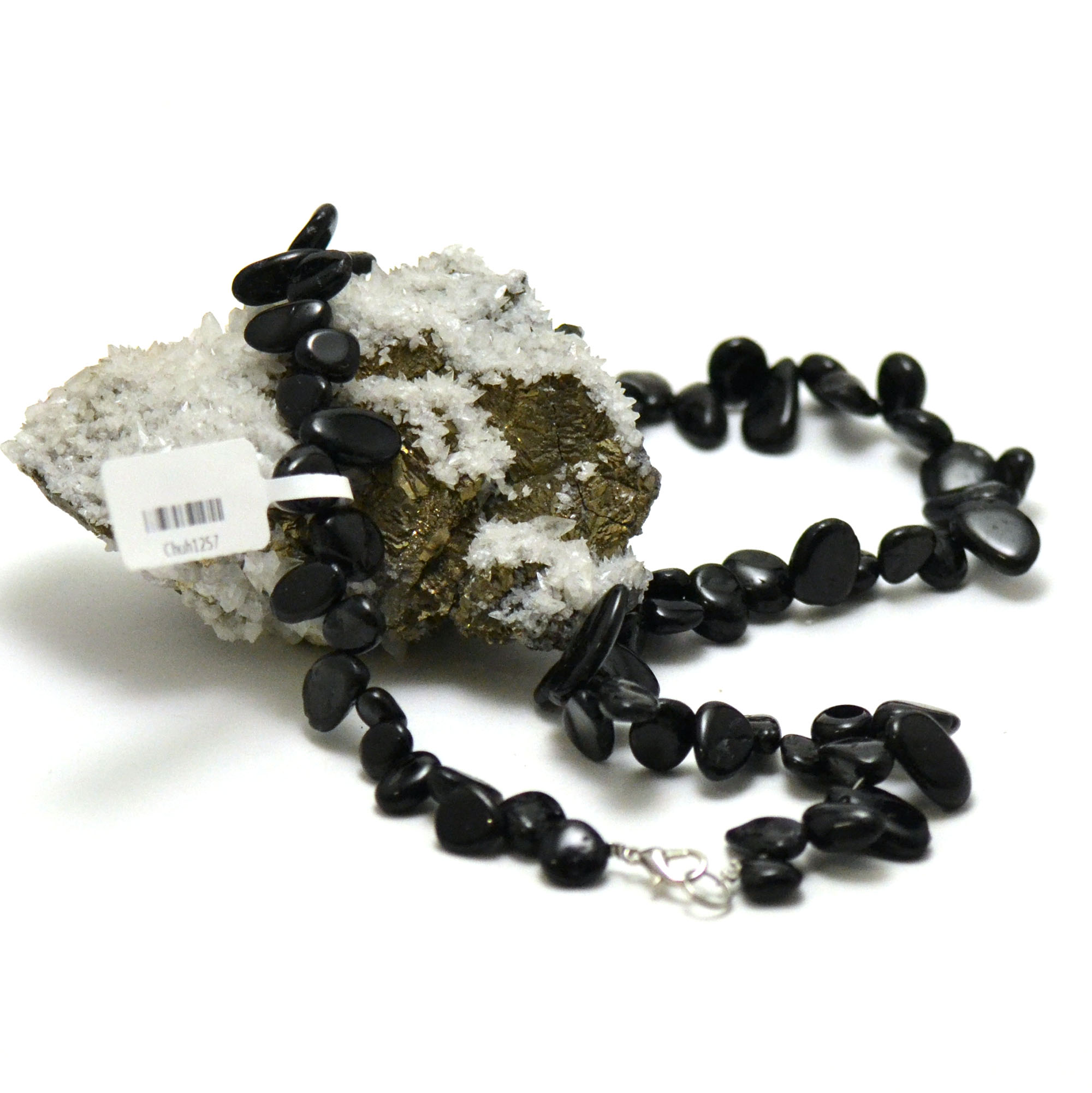 collier tourmaline noir Ts baroque