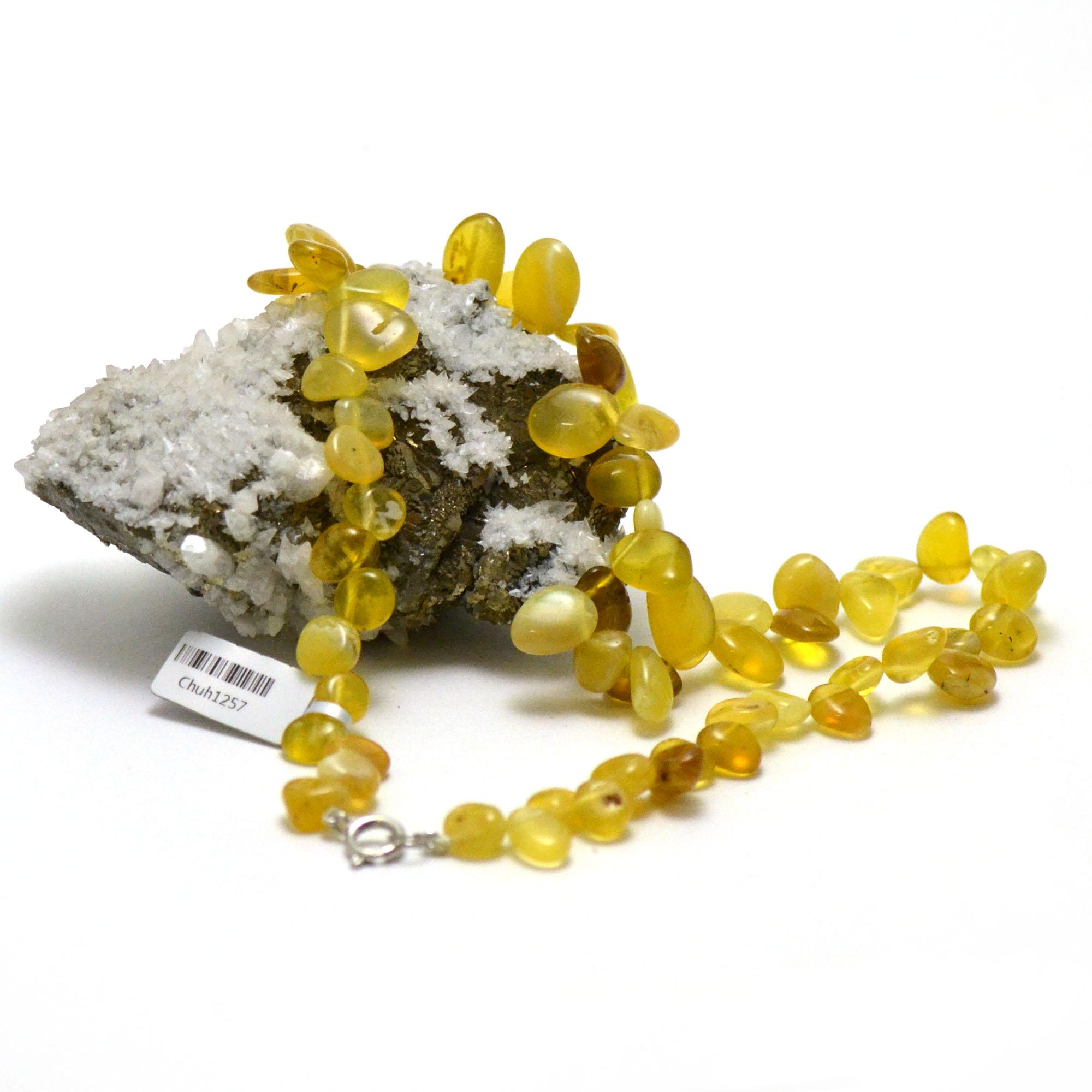 collier opale jaune Ts baroque