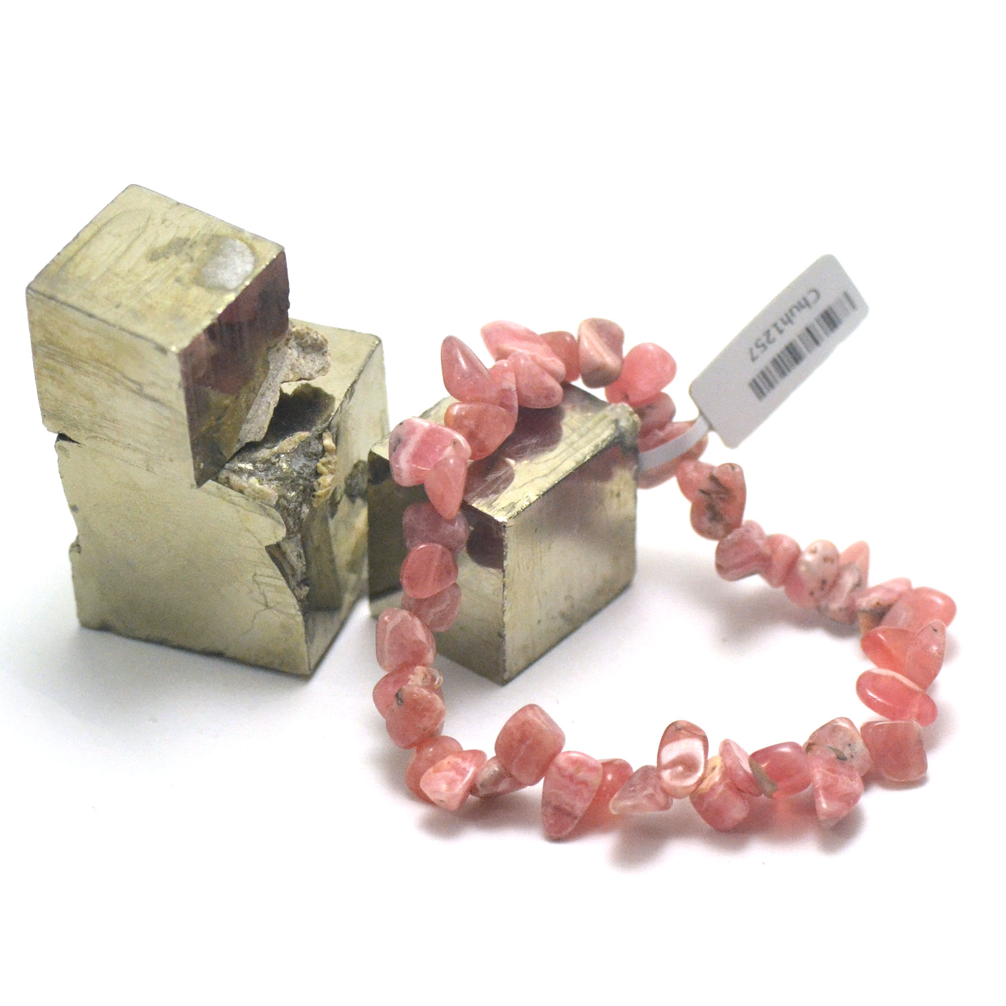 bracelet rhodochrosite Ts baroque