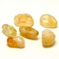 """pierre roulée """"citrine"""" naturelle"""