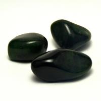 "pierre roulée ""jade de canada "" naturelle"