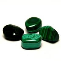 """pierre roulée """"malachite"""" naturelle"""