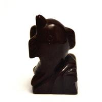 """statuette minéraux """" dauphin"""" en pierre naturelle de jaspe brun"""