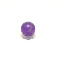 boule  en pierre naturelle d'améthyste,2.2 cm