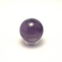 boule en pierre naturelle d'améthyste , 4.8 cm
