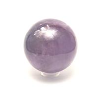 boule en pierre naturelle d'améthyste, 6.5 cm