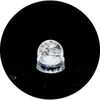 boule en pierre naturelle de cristal de roche, 2.5 cm