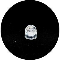 boule en pierre naturelle de cristal de roche,3 cm