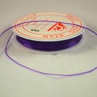 Fils élastique, couleur violet ( une bobine de 5 m)