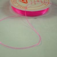 Fils élastique, couleur rose fuschia ( une bobine de 5 m)