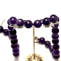 """Collier améthyste """"perles rondes 16 mm"""", pièce exceptionnelle"""