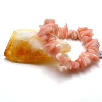 "Bracelet opale rose des Andes "" grand chips"""