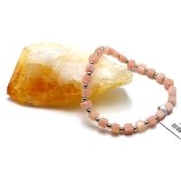 """bracelet opale rose des Andes """" Ahimsa"""""""