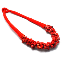 "Collier corail ""Hawaï"""