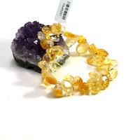 "Bracelet citrine ""Ts baroque"""