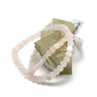 """collier quartz rose """" mini coeur"""""""
