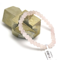 "bracelet quartz rose "" mini coeur"""