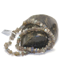"collier labradorite , "" grand chips"""