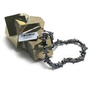 """bracelet hématite , """" mini étoile - ronde 4 mm"""""""