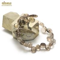 "Bracelet Quartz fumé ""Ts baroque"""
