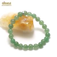 "bracelet aventurine ""perle ronde 8 mm"""